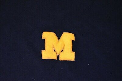 "Vintage Antique University of Michigan Wolverines Stadium ~66x53"" Blanket"