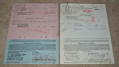 1975-1977 Scarce!!!! Blues Legends Contracts!!!! B.b. King Bobby Bland New York