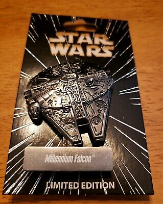 2017 star wars celebration Disney Pin Millennium Falcon LE 6000