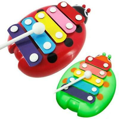 HOT Baby Child Kids 5-Note Xylophone Musical Toys Wisdom Development Beetle EH