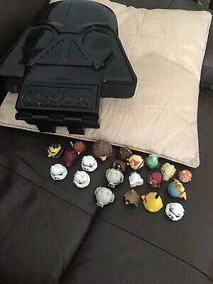 Angry Birds Star Wars Telepods Figures And Pig Dath Vader Case