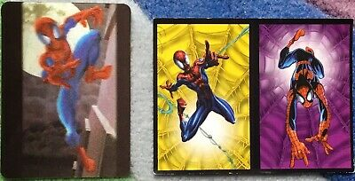 Pub SPIDERMAN CARTES MARVEL BN