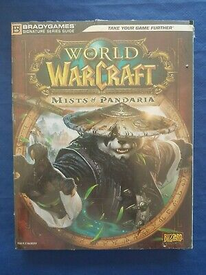 Guide de Stratégie World Of Warcraf Myst Of Pandaria français neuf sous cello