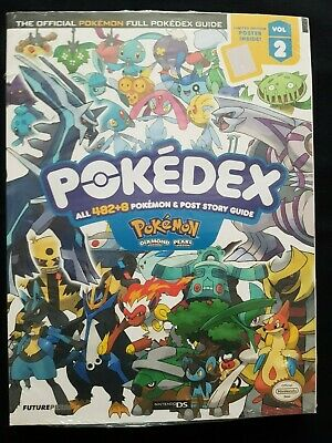 Guide Pokédex Diamond & Pearl english new sealed
