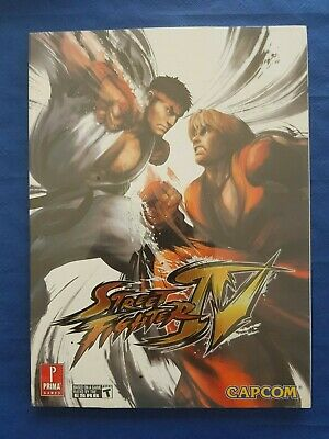 Strategy Guide Street Fighter IV Prima english new sealed