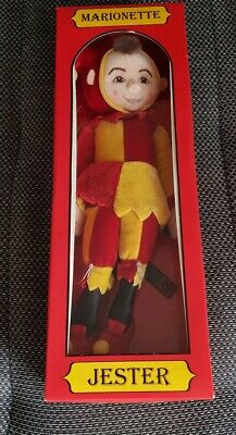 The Puppet Company Marionette Jester Doll
