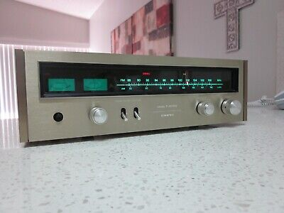 Onkyo T-4055 Vintage High Quality Stereo Tuner In Excellent Condition .