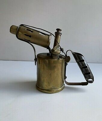 Vintage Monitor Paraffin Blow Lamp Torch - Made in England