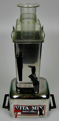 Vitamix 3600 Plus Heavy Duty 2HP Blender Stainless Juicer Action Dome New Gasket