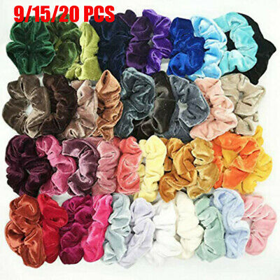 Hair Rubber Bands Velvet Scrunchie  Elastic Hair Ties  Hair Scrunchie