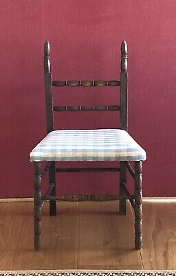 Small Antique Child's Nursery Chair Needs Reupholstery Collect London/S'hampton