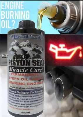 Permanent Oil Loss Miracle Cure - Stops Burning Oil And Smoke - Petrol + Diesel