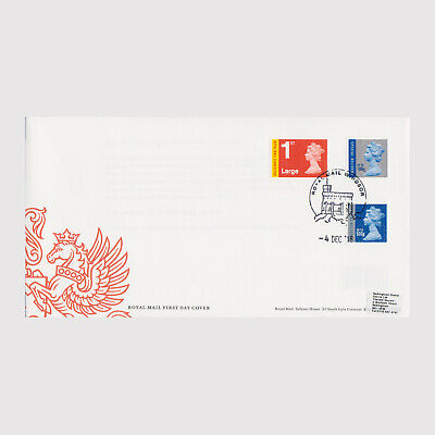 2018 Non Visual Change Definitives M18L First Day Cover (FDC) - Windsor Postmark