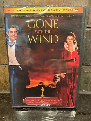 Gone With the Wind DVD 2-Disc Set Vivien Leigh Clark Gable New