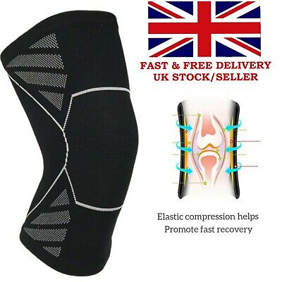 Elasticated Knee Support Compression Knee Brace Support Pad Guard Sport work