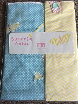 NEW Mothercare Butterfly Field range 2 cot pockets