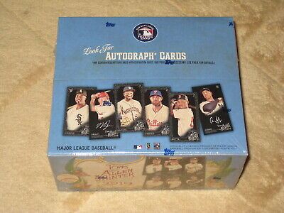 2019 Topps Allen & Ginter X Baseball Sealed Hobby Box Online Exclusive A&G