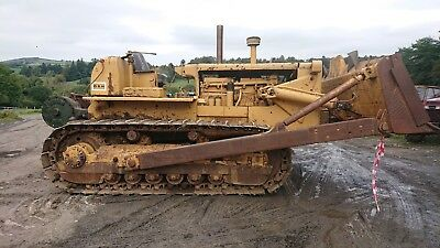 1960 Catterpiller D8 22A Bulldozer With 50 Ton Winch And Cab Work Or Play