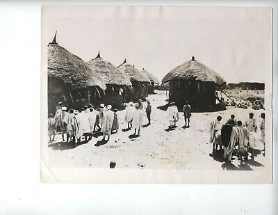 1935 Ethiopia Italy war vintage photo fascist Addis Ababa Mussolini invasion
