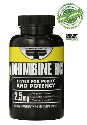PRIMAFORCE YOHIMBINE HCL- 90 caps - Fat Burner, Increases Libido & Spermogenesis
