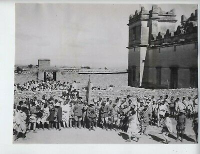 1935 Ethiopia Italy war vintage photo fascist Addis Ababa Mussolini invasion Z
