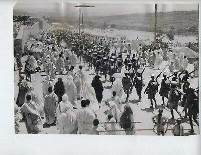 1935 Ethiopia Italy war vintage photo fascist Addis Ababa Mussolini invasion W