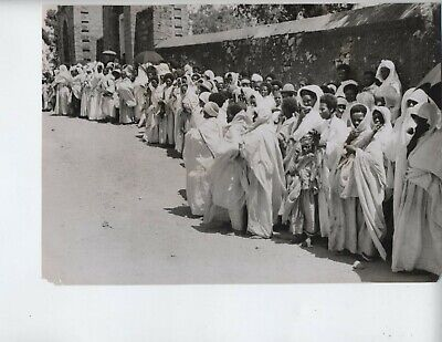 1935 Ethiopia Italy war vintage photo fascist Addis Ababa Mussolini invasion V