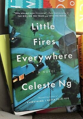 Little Fires Everywhere By Celeste Ng (hardcover w/ dustjacket)