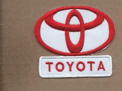 New 2 5/8 X 3 Inch Toyota Trucks Iron On Patch Free Shipping P1