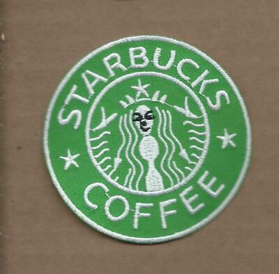 New 3 Inch Starbucks Coffee Iron On Patch Free Shipping P1