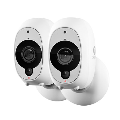 Wire-Free Smart Security Camera 2 Pack
