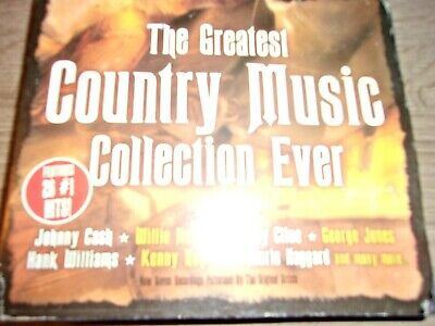 GREATEST COUNTRY MUSIC COLLECTION CD'S SET 26 # 1 HITS On 3 Cash Nelson Williams