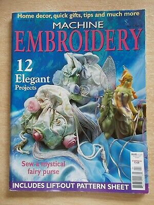 Machine Embroidery Vol 5 #3~Tablecloth~Purse~Mice Quilt~Chair Cover~Tote Bag...
