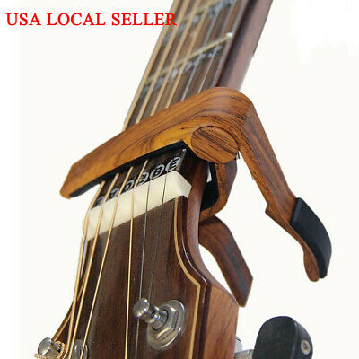 2pcs Clamp Trigger For 6-String Guitar Capo Quick Change Acoustic Classic Guitar