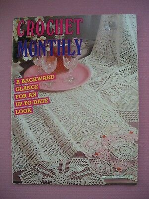 Vintage Crochet Monthly Magazine No 107 - Bedspread Tablecloths Doilies