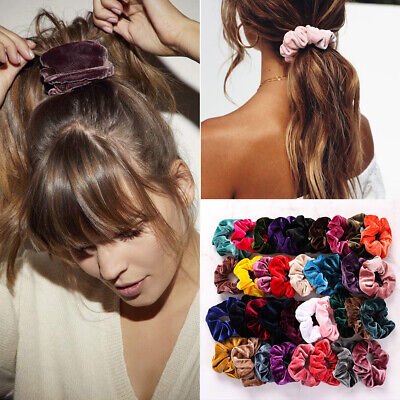 Holder Hair Rubber Bands Velvet Scrunchie  Hair Scrunchie Elastic Hair Ties