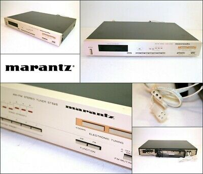Vintage MARANTZ ST525 Digital Synthesizer Stereo FM AM Tuner Japan