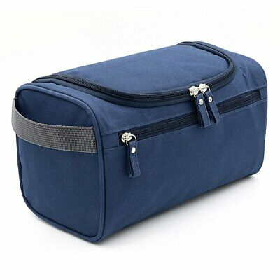 Mens Travel Wash Bag Hanging Toiletry Large Capacity shaving gym makeup bag AU
