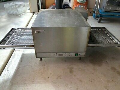 pizza oven commercial electric CTI Inpinger
