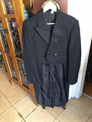 1960s Black Tails Coat By Keith Courtenay