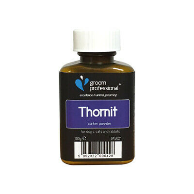 Groom Professional Thornit Ear Canker Powder - Tackles Ear Mites, Large 100g