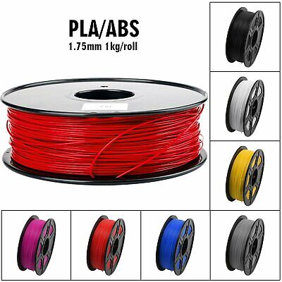 UK 1KG 3D Printer Filament PLA/ABS 1.75mm for Makerbot Leapfrog Reprap Prusa i3