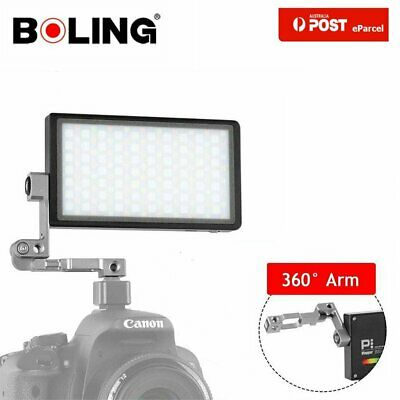 AU Boling BL-P1 12W RGB Pocket LED Video Light 2500-8500K For Studio DSLR Camera