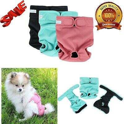 Paw Legend Reusable Female Dog Diapers Pack of 3