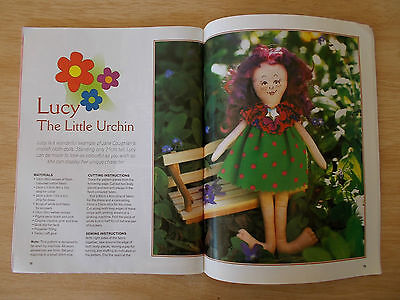 Modern Dolls & Bears~Patterns~Bertie~Sunflower~Jade~Jessica~Percival~Baby Tippy