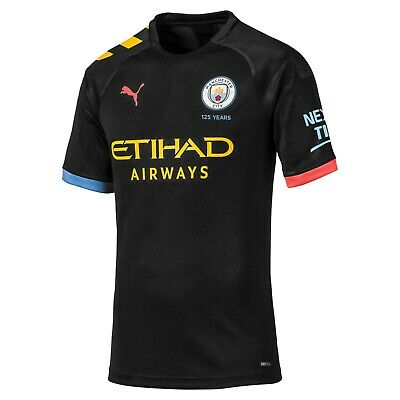 Mens Large Manchester City Authentic Away Shirt 2019-20 (M145)