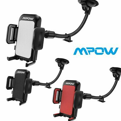 MPOW 360 Rotation Car Windshield Dashboard Mobile Phone Cradle Holder Mount UK
