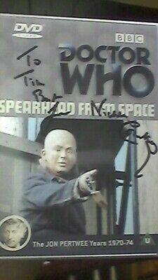 DOCTOR WHO: SPEARHEAD FROM SPACE - Signed autograph Nicholas Courtney BRIGADIER
