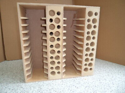 Hand Crafted Stampin up  Mdf storage unit for Ikea Kalex  Shelving Unit