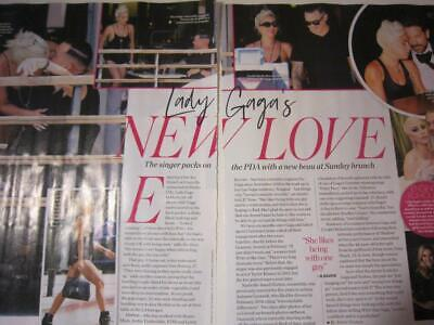 LADY GAGA*2 Page AUGUST 2019*Magazine Clipping*Lady Gaga's New Love*